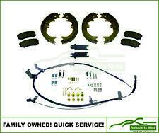 Landcruiser 76 Series Wagon Hand Brake Cable+Spring Kit+Dogbone+Pads+Shoes VDJ76