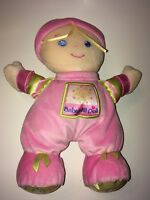 "Fisher Price Babys 1st Doll   10"" Plush Stuffed Animal"