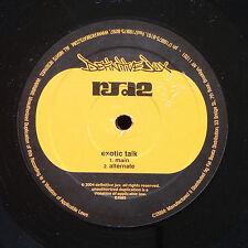 """RJD2 Exotic Talk / De l'Alouette 12"""" DEFINITIVE JUX DJX085 US 2004 Hip Hop Promo"""