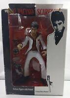"Mezco 10"" Al Pacino SCARFACE action figure The player - White Suit  2005"