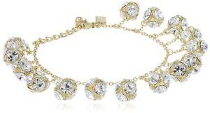 "kate spade new york Lady Marmalade Mini Charm Bracelet, 6.75"" WBRU7313 MSRP $128"
