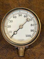 Vintage Lonergan Phila Pressure Gauge Steampunk