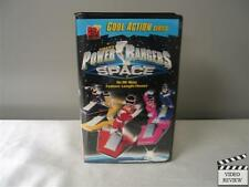 Power Rangers in Space (VHS, 1999) Large Case Haim Saban