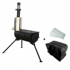 New Art-Tackle Tent Stove & Water Heater Package