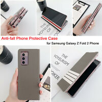 Anti-fall Phone Protective Case Cover for Samsung Galaxy Z Fold 2 Phone BAU
