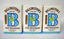 ( 0,69 �'� /100 g ) BILLINGTON'S Light Muscovado 1500g unraff Rohrzucker Mauritius
