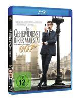 James Bond 007 - Im Geheimdienst ihrer Majestät [Blu-ray/NEU/OVP] George Lazenby