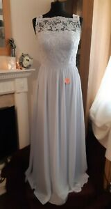 Gorgeous New Light Blue Arna Bridesmaid Dresses By Chi Chi - Sizes 1x16s 1x14