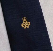 QUEEN'S AWARD TECHNOLOGY LOGO TIE VINTAGE CLUB ASSOCIATION 1980s 1990s MACASETA