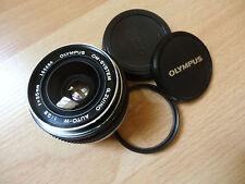 olympus OM zuiko auto W 35mm 1 : 2.8 silver nose (OM1-OM2-OM3-OM4)