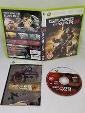 Xbox Spiele 360 Gears of war2 Komplett mit Anleitung kostenlos p&p SHOOTER ROLLENSPIEL VGC