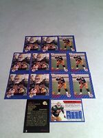 *****Michael Soles*****  Lot of 21 cards.....3 DIFFERENT / Football / CFL