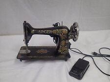Antique SINGER Sewing Machine serial G2260159 1912 electric