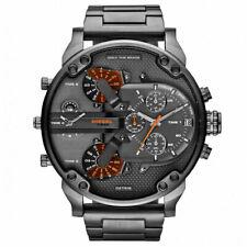 DIESEL DZ7315 Mr Daddy2 Collection Gunmetal Mens Chronograph Watch NEW!