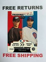 2007 Topps Trading Places Card #TP7 Ted Lilly Chicago Cubs MLB