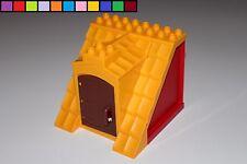 LEGO DUPLO - TETTO CON PORTA - Fattoria - fienile - EDIFICI - Arancia Rossa