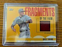 BRICE TURANG 2020 Pro Debut Fragments of the Farm Relic #FF-FL Brewers Prospect