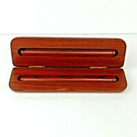 Solid Wood Case Single Cigar Pen Vintage Box