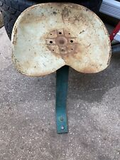Old Antique Metal Tractor Implement Seat And Support