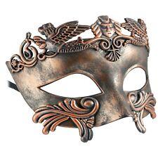 ROMAN Gladiator | FILIGREE Venetian MENS MASQUERADE Mask | Fancy Dress PROM BALL