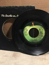 BEATLES~THE BALLAD OF JOHN AND YOKO~OLD BROWN SHOE~APPLE 2531~ POP 45