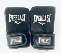 Everlast Boxing MMA Fighting Gloves 7502LXLU Black Clean Excellent Never Used