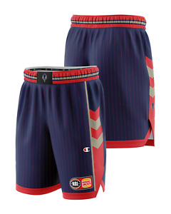 Adelaide 36ers 20/21 Authentic Home Shorts, NBL Basketball