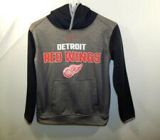 Detroit Red Wings NHL Hockey Hoodie Hooded Sweatshirt Boys Reebok YOUTH SMALL 8