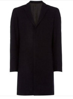 Linea Howe Mini Check Jacket Navy Mens Size UK XL *REF91