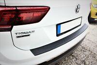 VW Tiguan II 2 2016Up Abs Plastic Rear Bumper Protector (Black)