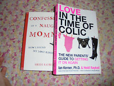 Love in the Time of Colic & Confessions of  Naughty Mommy new mom humor book set