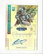 2014 Contenders #149B Kony Ealy Rookie AUTOGRAPH Panthers Cowboys /99
