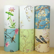 6 Colors Vintage Lampshade Floral Bird Lamp Shade Table Ceiling Light Cover New
