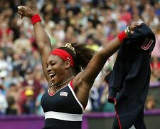 Serena Williams 2012 Team USA Tennis Singles Olympic Gold Medal 8x10 Photo #2