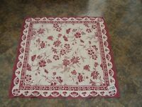Red Hot Tablecloth Table Topper