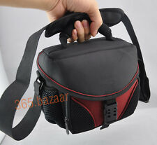 new Camera bag case for Nikon D3100 D3200 D90 D610 D5500 D7000 & one short lens