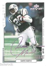 Curtis Martin 2000 Upper Deck MVP Super Script Parallel #116 (#10/25) RARE!