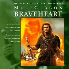 Braveheart: Original Motion Picture Soundtrack Cd By New Sealed