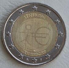 2 Euro Luxemburg 2009 10 Jahre WWU unz