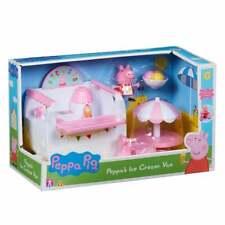 Peppa Pig - Peppa's Ice Cream Van Free-Wheeling Vehicle with Figure & Table