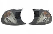 For BMW 3 Series E46 2 Door Coupe 01-03 black Front Indicators Pair Screw