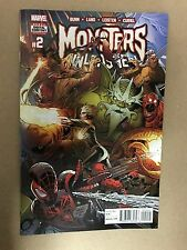 MONSTERS UNLEASHED #2 MARVEL COMICS (2017) SPIDER-MAN VISION THOR AVENGERS