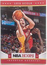 Luis Scola Forward Houston Rockets  Panini #47 2011-2012 9 Single Original
