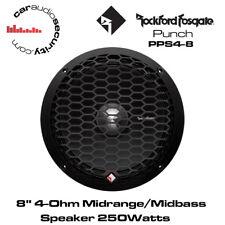 """Rockford Fosgate PPS4-8 - Punch Pro 8"""" 4-Ohm/250 vatios medio Altavoz de rango medio"""