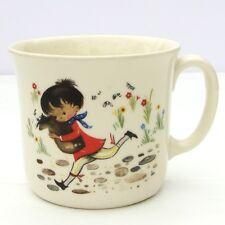 Vintage Bone China Childrens Nursery Rhyme Cup Mug Baa Black Sheep Humpty Dumpty