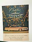 Vintage Cadillac  Ad: 1961 Gold Sedan de Ville