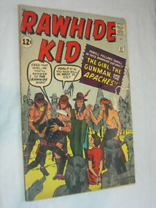 Rawhide Kid #27 G The Girl and the Gunman Jack Kirby WOW