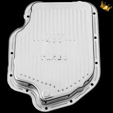 Transmission Pan Turbo 400 Chrome For Chevy Pontiac Oldsmobile Buick TH 400