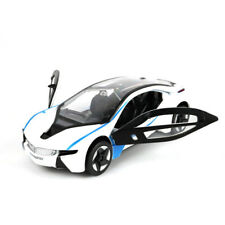 1/24 White BMW I8 Concept Car Diecast Metal Model Sports Racing Car kid Toy Gift