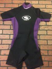 Sorrento Wetsuit Wet Suit Adult Size Medium Shorty Wet Suit